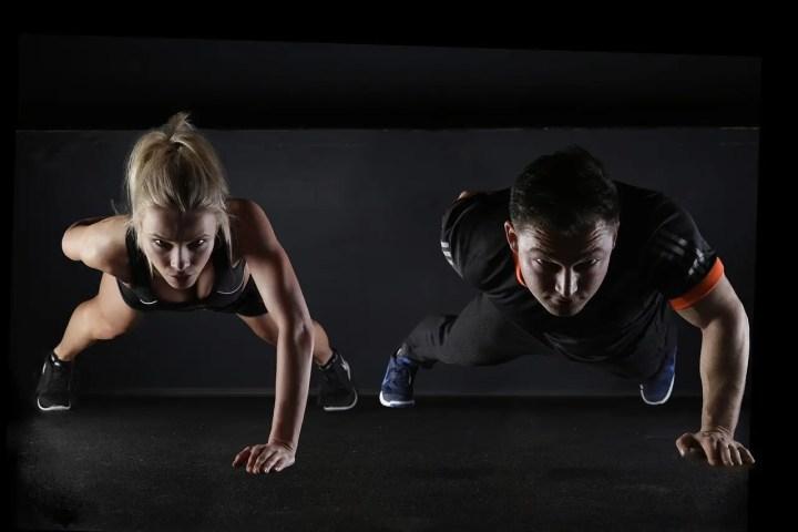 Entrenamiento HIIT de peso corporal