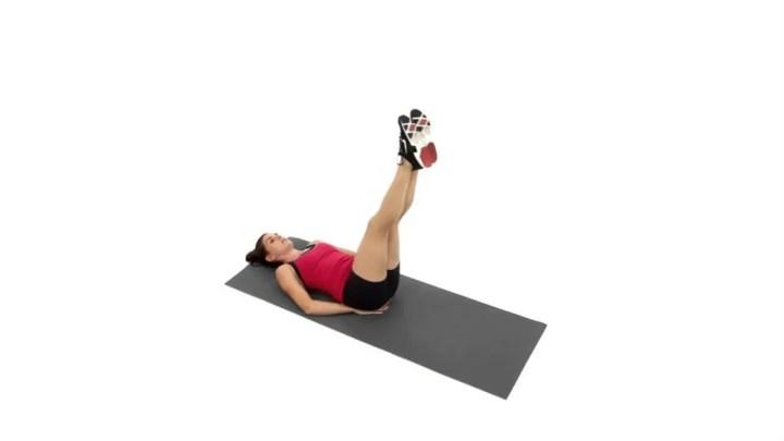 Ejercicios de piernas basados en el Pilates