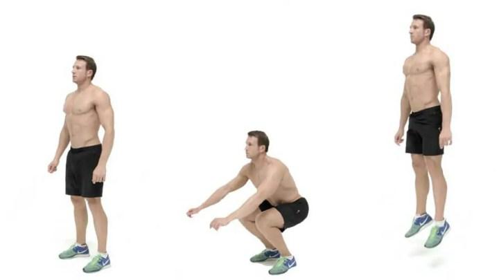 Ejercicios HIIT con peso corporal