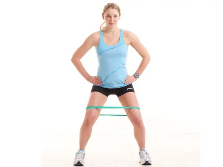 Mejores ejercicios para calentar los glúteos