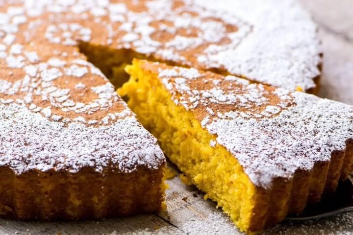 Receta de tarta de mandarina saludable