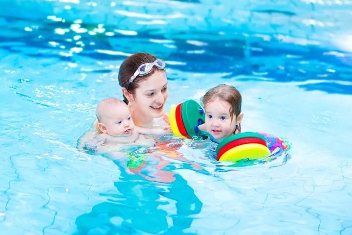 Beneficios de la natación para los niños