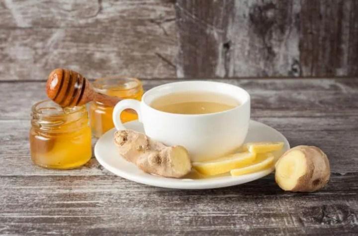 Receta de té de jengibre