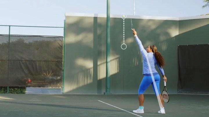 Cómo conseguir un buen servicio de tenis