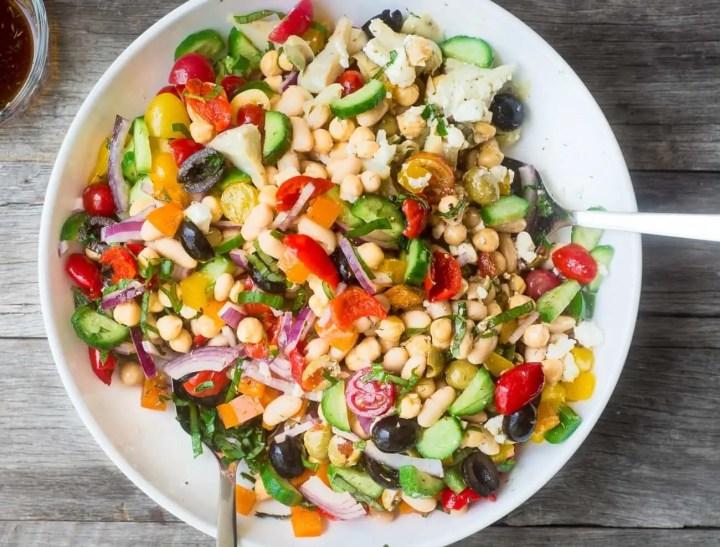 Cómo crear la ensalada perfecta para adelgazar