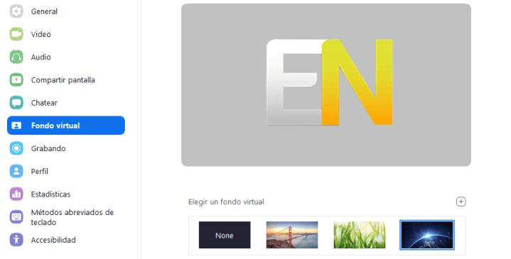 Cómo crear un fondo virtual en Zoom