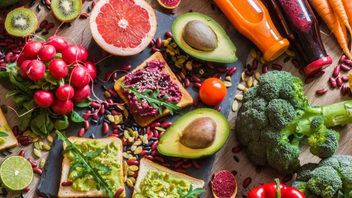 dieta basada en plantas y dieta vegana