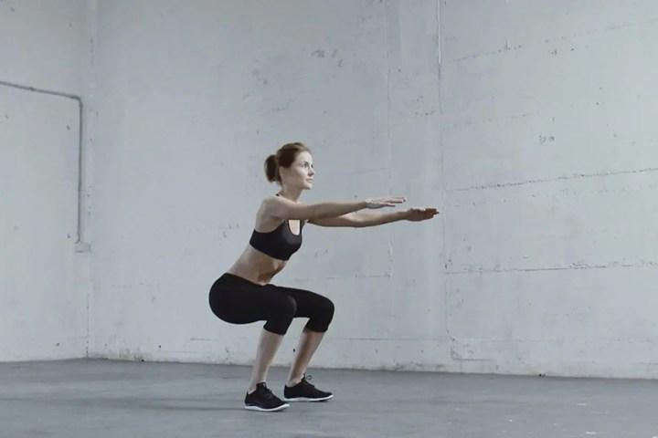 El Squat Chop es un ejercicio funcional