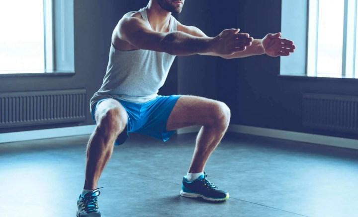 Ejercicios rutina de piernas casera para principiantes
