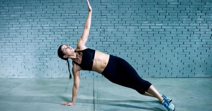 Flexiones con rotación como ejercicio de cardio