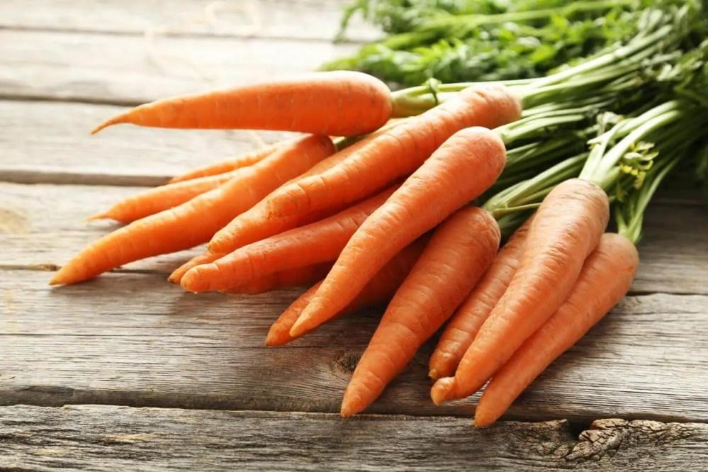 Beneficios de consumir zanahoria