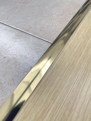 barre de seuil laiton adhesive 3x73 cm 3m