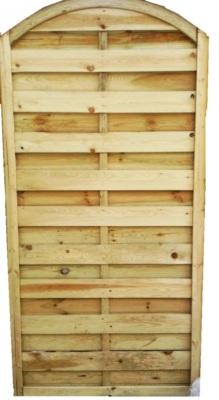 panneau bois vis inox arc l 900 x h 1800 x ep 35 mm