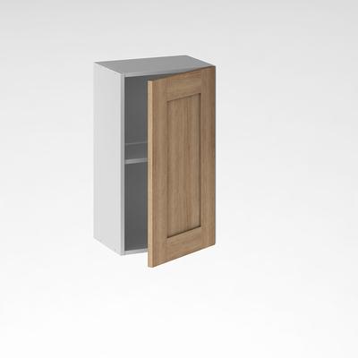 facade de cuisine 1 porte lounge chene verni 70 x 40 cm pour meuble