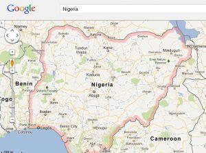 Google Map in nigeria