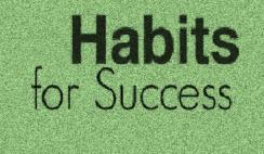important habits needed for success