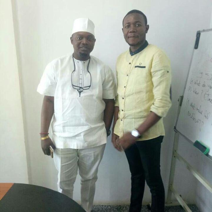 Alex Chukwuma Alieja and chief osiobe robo