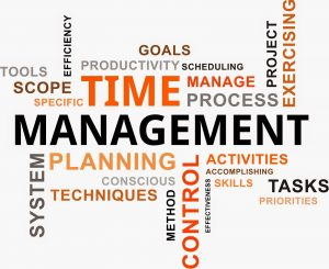 manage time at work
