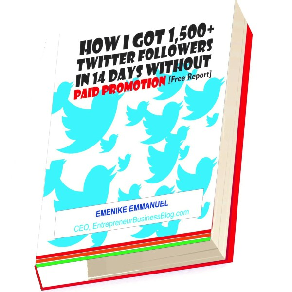 Free eBook on Twitter growth