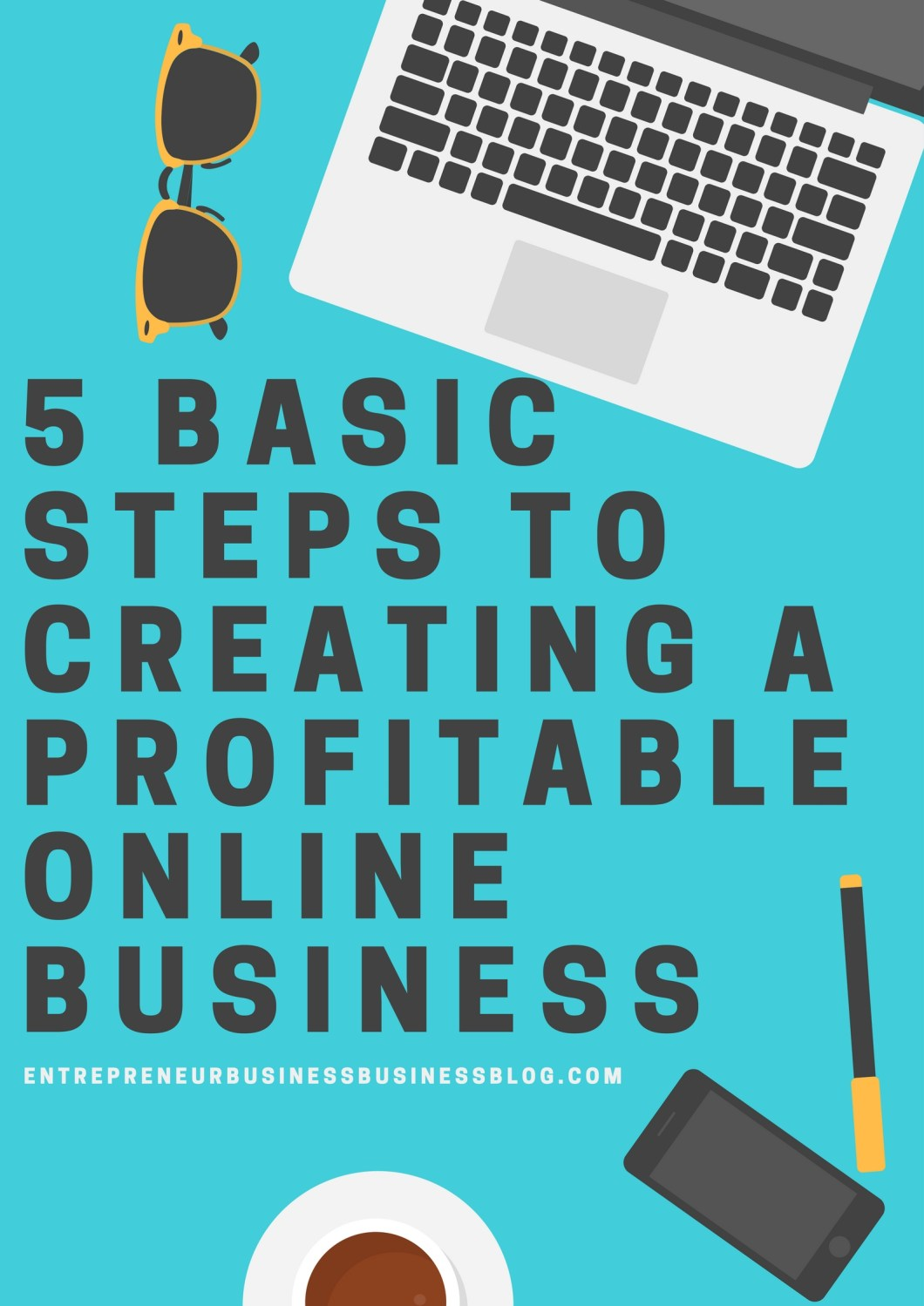 Steps to a profitable online business