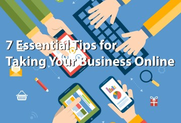 Essential tips for taking your business online