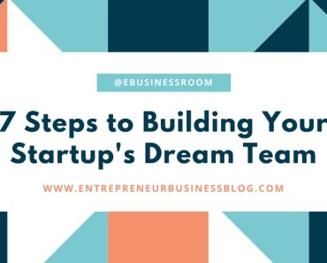 Steps to building startup dream team