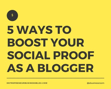 Boost your social proof as a blogger