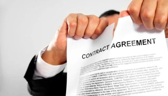 Contract breach and how to report