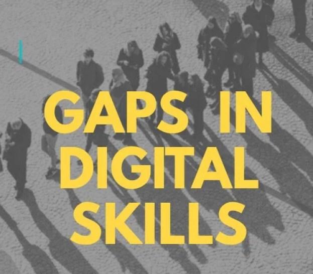 Gaps in digital skills