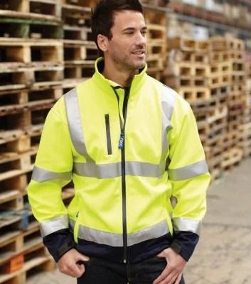 Using High Vis Jacket to prevent worker's accident.