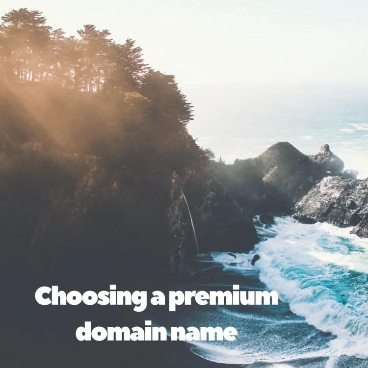 How to choose premium domain name