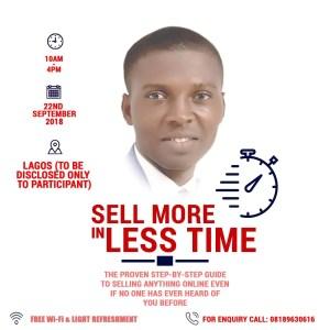 Best online marketing training in Lagos by Emenike Emmanue