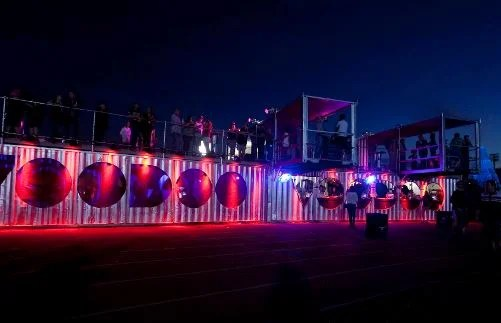 Theatres and Bistros shipping containers
