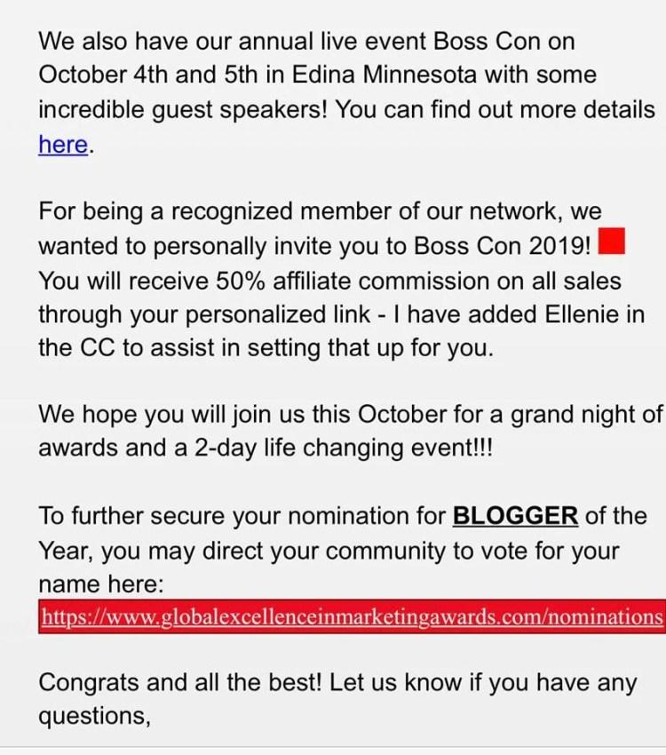 Emenike Emmanuel nominated for Global Excellence in Marketing Awards