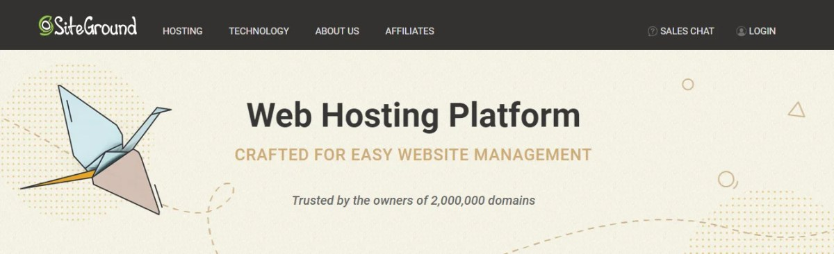 Affordable and powerful web hosting from SiteGround