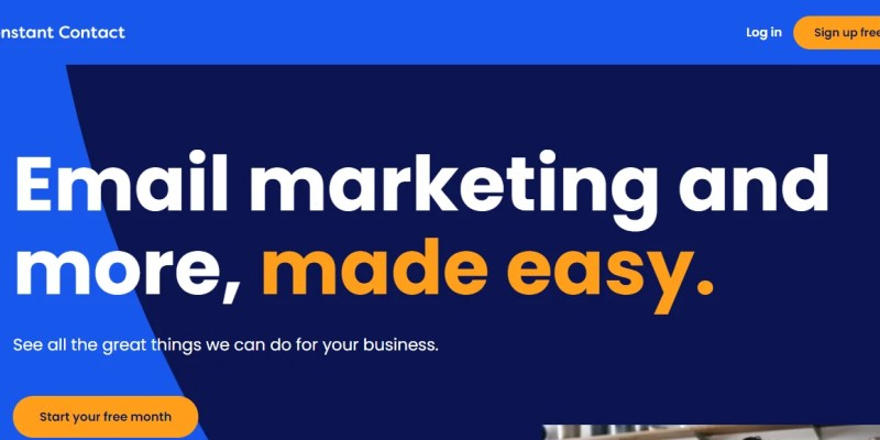 Constant Contact email marketing software for small businesses
