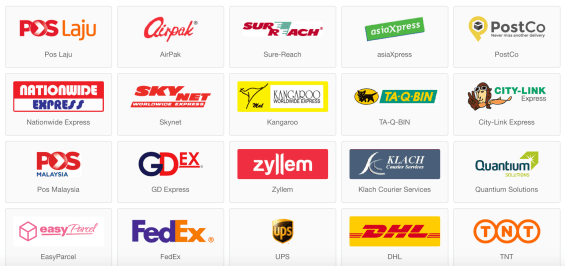 Easystore couriers