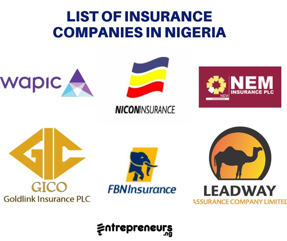 Insurance Companies 22 Lists Of Insurance Companies In Nigeria