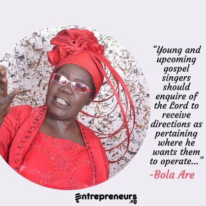 Bola Are: Biography Of A Gospel Music Icon;A Lifestyle Worthy of Emulation