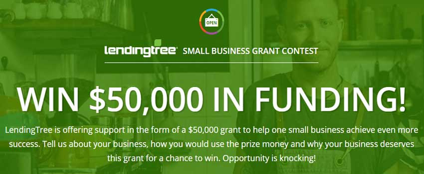 $50,000 Small Business di Grant Contest