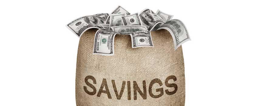asmeninių santaupų
