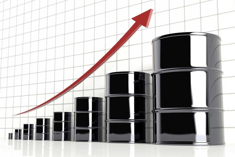 žalios naftos kaina