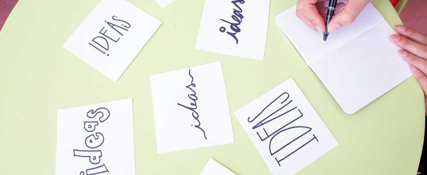 5 šaltiniai verslo idėjų