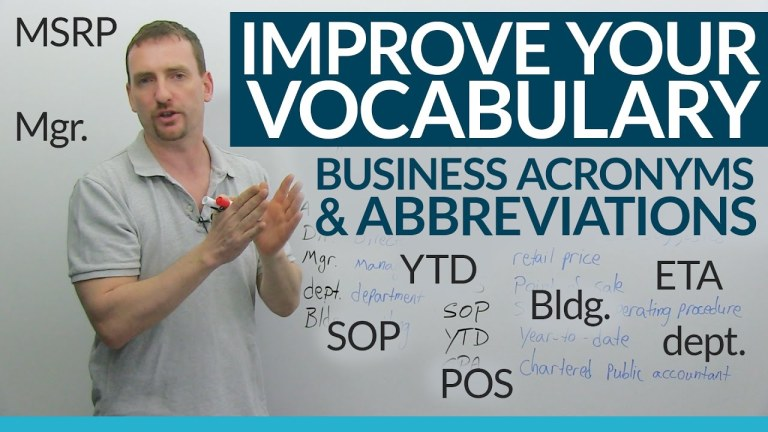 Business Abbreviations- A Complete Guide To Know About Business Acronyms