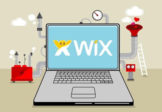 e-commerce website with wix