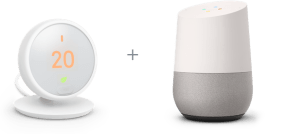 Thermostat Nest et Google Home