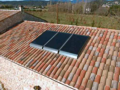 capteurs solaires Weishaupt