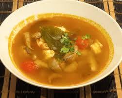 Sopa Picante de Gambas
