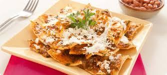 Chilaquiles ( tradicional desayuno Mexicano)