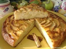 Tarta de manzana navarrica